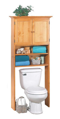 Renovators Supply - Toilet Shelves Heirloom Pine Over The Toilet Shelf 67H 28 1/2W - Over the ...