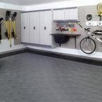 Custom Garage Half Open Modern Garage Santa Barbara