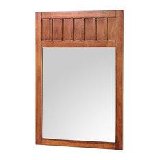 Craftsman bathroom mirrors houzz for Craftsman mirrors bathroom