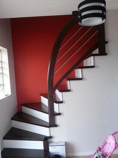Couleur mur mont e escalier - Decoration montee d escalier ...