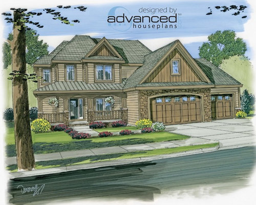 29084 Castleberry 2 Story Traditional House Plan