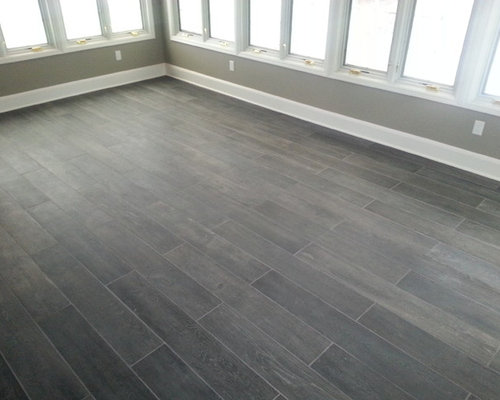 Gray Plank Flooring Home Design Ideas Pictures Remodel