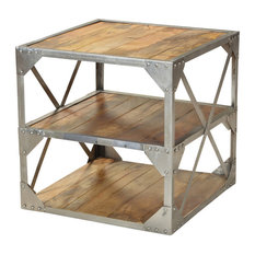 1 137 industrial side tables and end tables