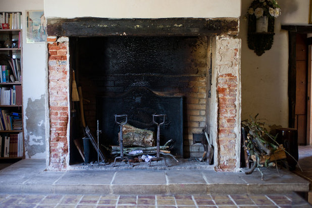 Diy comment restaurer une vieille chemin e pour 70 euros - Habiller une cheminee ancienne ...