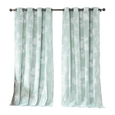 Contemporary Curtains And Drapes Houzz