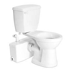 Saniflo Saniflo 002 003 005 Two Piece Round Bowl Toilet