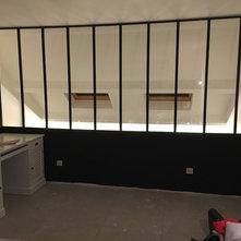 creation mezzanine avec verriere un dossier d 39 id es par soci t augusto. Black Bedroom Furniture Sets. Home Design Ideas