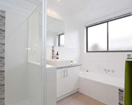 Contemporary hobart bathroom design ideas remodels photos for Bathroom designs hobart