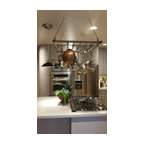 French Wall Rack with Bar And 10 Hooks - Satin Black ...