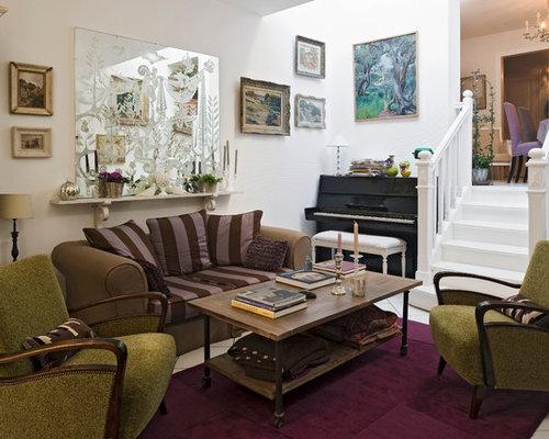 Salon romantique photos et id es d co de salons Deco romantique salon