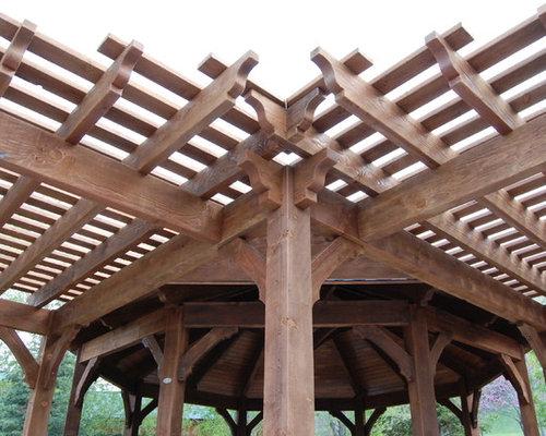 Timber Frame DIY Gazebo, Pergolas, Playground Set & Picnic Table