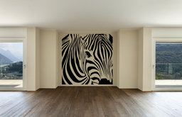 Zebra Square Wall Decal