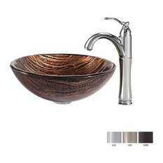 Modern bowl glass vessel sinks houzz for Bathroom w c meaning