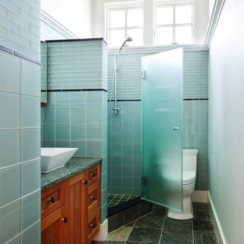 Sea Glass Shower Home Design Ideas Pictures Remodel And Decor