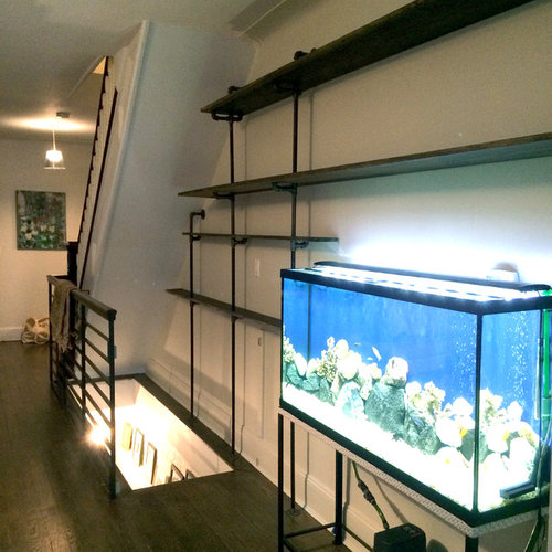Custom shelving and fish tank stand for Custom fish tank stand