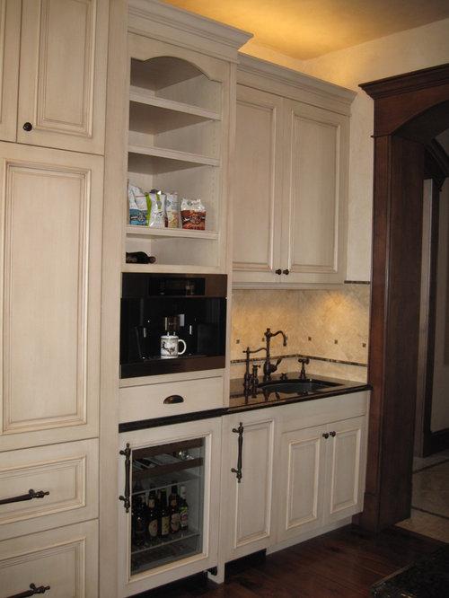 Kitchen Beverage Station Home Design Ideas Pictures