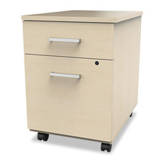 ... Line Mobile Pedestal File, Box/File Drawer, Oatmeal - Filing Cabinets