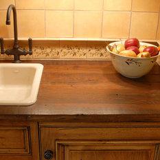 Rustic Kitchen Countertops Houzz
