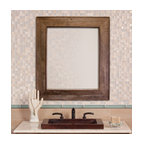 rustic vanities and bathroom accessories country