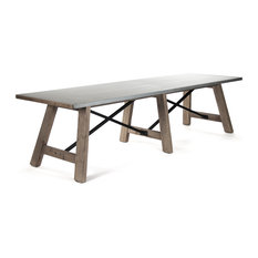 10 Person Dining Tables Houzz
