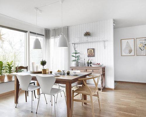 Medium sized enclosed dining room design ideas for Medium dining room ideas
