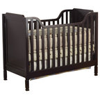 Storkcraft Princess Fixed Side Convertible Crib In White