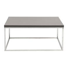 Emerson Rectangular Mod Swivel Coffee Table