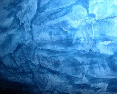 Plaster Paint Colors : Blue venetian plaster home design ideas pictures remodel