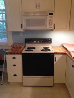 butcher block countertops lumber liquidators option