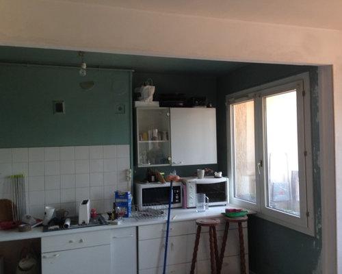 Ouverture d 39 un mur entre le salon et la cuisne for Ouverture mur cuisine salon