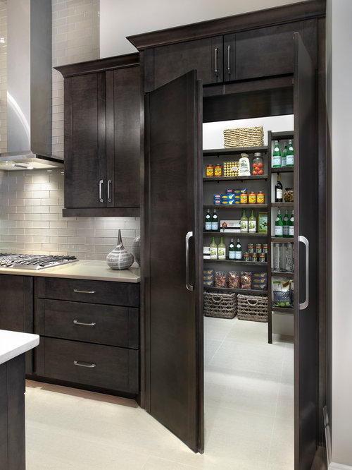 Hidden Pantry Home Design Ideas, Pictures, Remodel and Decor