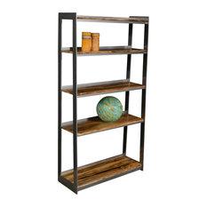 Natural Edge Furniture - Western Maple Bookcase - Bookcases