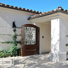 Solid Wood Bookcases Glass Front Doors: Find Entry Doors and Exterior ...