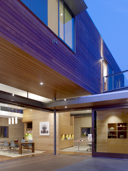 Interior siding home design ideas pictures remodel and decor for Modern horizontal wood siding