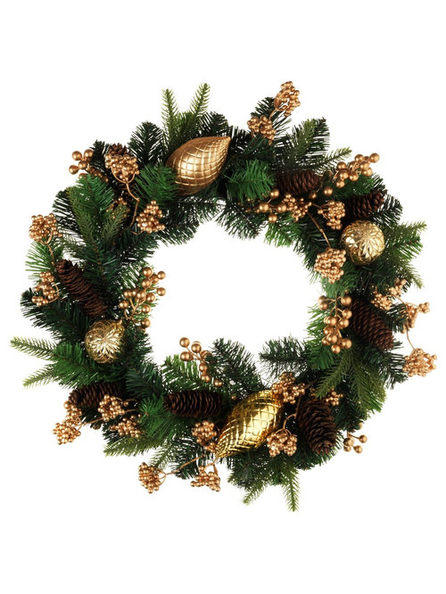 Christmas Trees Wreaths And Garlands
