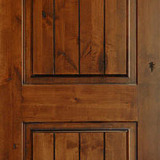 Shop dark brown door products on houzz for Mediterranean interior doors