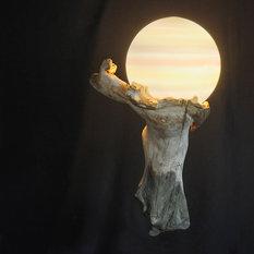 rustikale ausgefallene lampen besondere leuchten finden. Black Bedroom Furniture Sets. Home Design Ideas