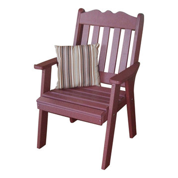 Purple Outdoor Dining Chairs
