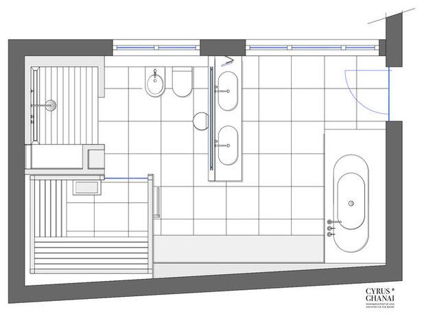 Badezimmer Grundriss Modern ~ Innen- und Möbel Inspiration