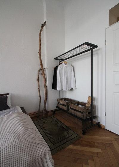 kreative kleiderschrank alternative kleiderstange selber bauen. Black Bedroom Furniture Sets. Home Design Ideas