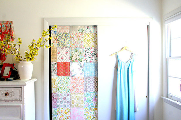 Shabby-chic Style Wardrobe by Tamar Schechner/Nest Pretty Things Inc