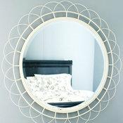 Zinnia Wire Mirror