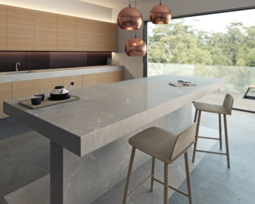 Caesarstone Clamshell Home Design Ideas Pictures Remodel