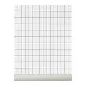 Grid Wallpaper, Black/White