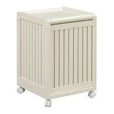 Modern laundry hampers houzz - Modern hamper with lid ...