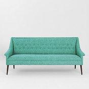 Charlotte Sofa, Turquoise
