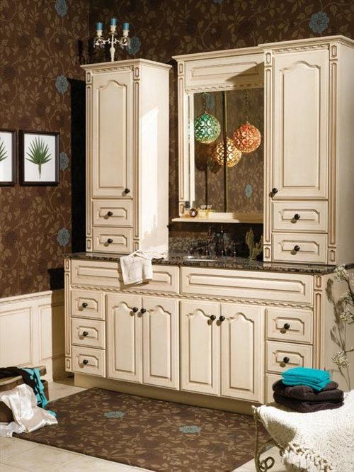 Bertch semi custom bath cabinetry for Semi custom bathroom cabinets