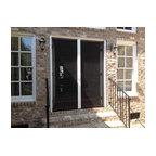 Custom wood screen door traditional screen doors for Custom screen doors for french doors