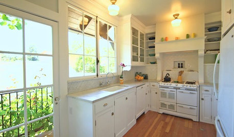 Houzz Tv Houzz Tv A Just Right Kitchen With Vintage Style By Vanessa