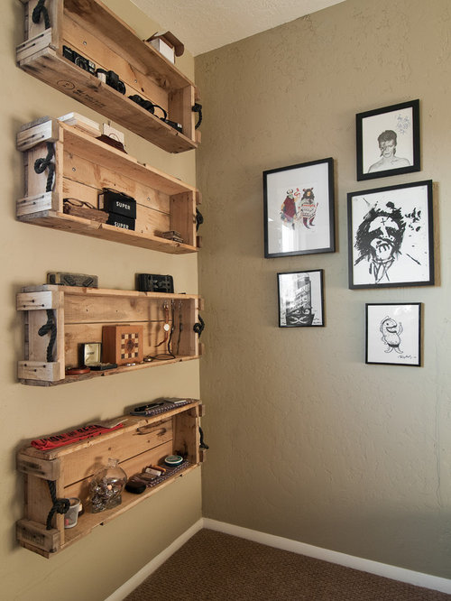 Pallet Shelves Home Design Ideas Pictures Remodel And Decor
